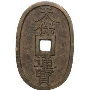 Japan, Shogunate, 100 Mon (Tempo Tsuho) ND (1835-1870)