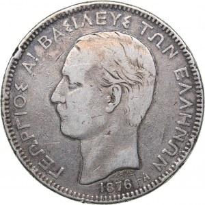 Greece 5 drachmai 1876