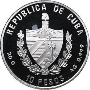 Cuba 10 pesos 2002  - Olympics