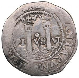Mexico 1 reales ND - Carlos I & Juana (1504-1555)