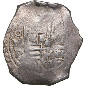 Mexico 8 reales ND - Philipp IV (1621-1665)