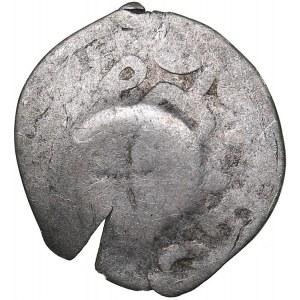 Moldavian principality - Anonymous counterstamp on Crimean Tartar coinage (around 1450)