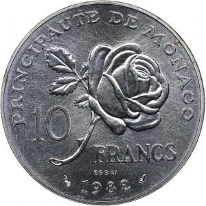 Monaco 10 francs 1982