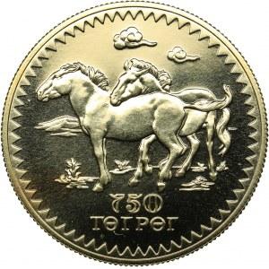Mongolia 750 Tögrög 1976 - Conservation