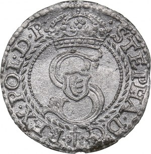 Poland - Prussia solidus 1584 - Stephen Batory (1576-1586)
