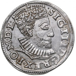 Poland - Poznan 3 grosz 1590 - Sigismund III (1587-1632)