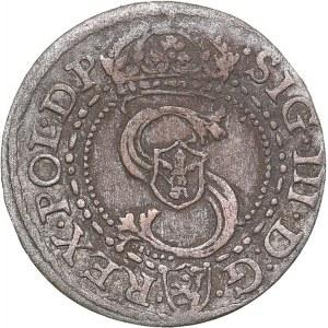 Poland - Malbork Schilling 1592 - Sigismund III (1587-1632)
