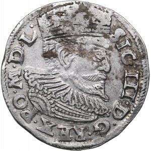 Poland - Poznan 3 grosz 1595 - Sigismund III (1587-1632)