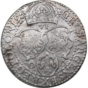Poland - Malbork 6 grosz 1596 - Sigismund III (1587-1632)