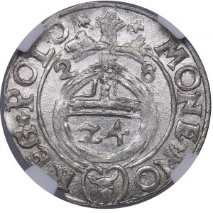 Poland - Bydgoszcz 1/24 taler 1628 - Sigismund III (1587-1632) - NGC MS 63