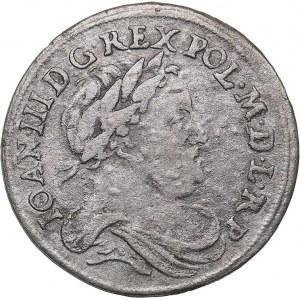 Poland - Bromberg 6 grosz 1678 - Johann III Sobieski (1674-1696)