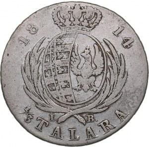 Poland 1/3 talara 1814 - Friedrich August I (1807-1814)