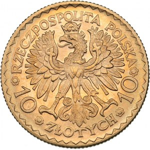 Poland 10 zlotych 1925