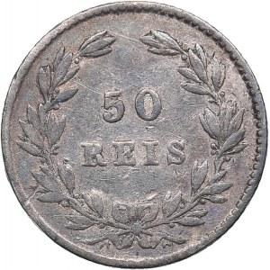 Portugal 50 reis 1863