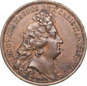 France medal Louis XIV. Versailles Embellishment Medal, 1680 (1974)