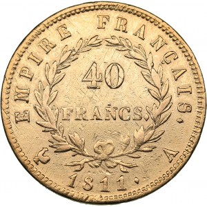 France 40 francs 1811 A