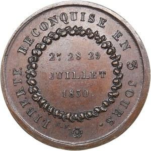 France July Revolution medal, 1830