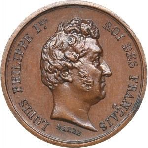 France medal Louis-Philippe Ier / Maria Amalia ND