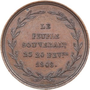 France Revolution of 1848 medal