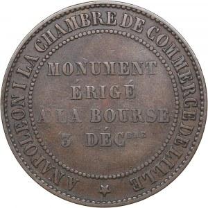 France Essai AE 10 centimes 1854