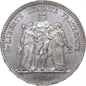 France 5 francs 1873 A