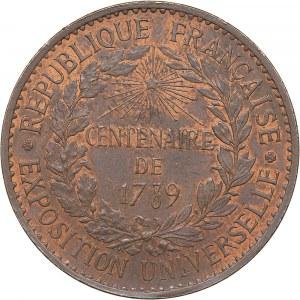 France Paris Universal Exhibition medal, 1889