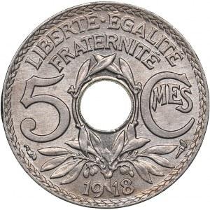 France 5 centimes 1918