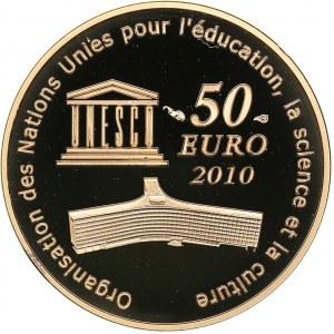 France 50 euro 2010 - Unesco Taj Mahal