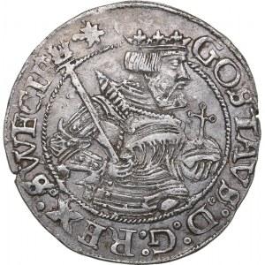 Sweden 1/2 mark 1549 - Gustav Vasa (1521-1560)