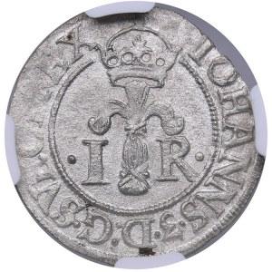 Sweden 1/2 öre 1577 - Johan III (1568-1592) - NGC AU Details
