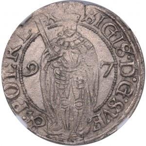 Sweden 1 öre 1597 - Sigismund (1592-1599) - NGC AU 55