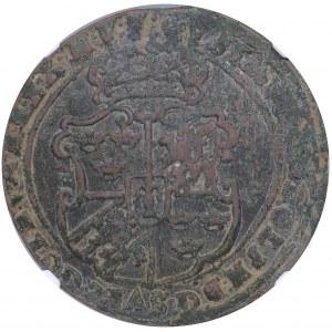 Sweden 1 öre 1628 - Gustav II Adolf (1611-1632) - NGC XF Details