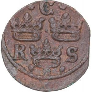 Sweden 1/4 öre 1642 - Kristina (1632-1654)