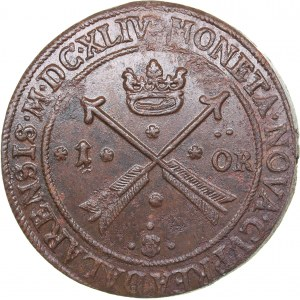 Sweden 1 öre 1644 - Kristina (1632-1654)