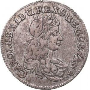 Sweden - Pomerania 1/3 taler 1673 - Karl XI (1660-1697)