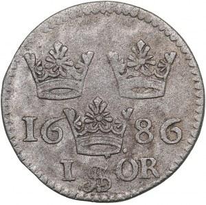 Sweden 1 öre 1686 - Karl XI (1660-1697)