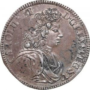 Sweden - Pomerania 2/3 taler 1690 - Karl XI (1660-1697)