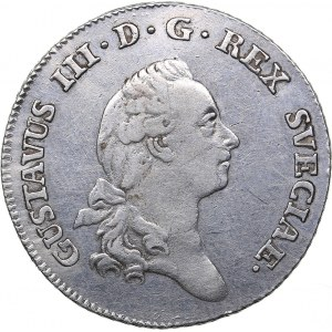 Sweden 1/3 riksdaler 1779 - Gustav III (1771-1792)