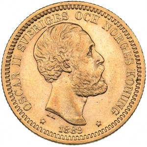 Sweden 20 kronor 1889 - Oskar II (1872-1907)