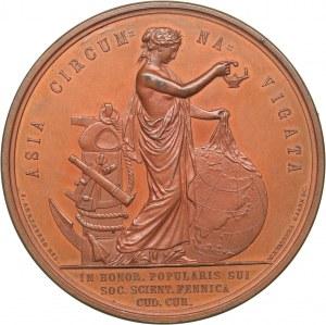 Sweden medal Adolphus Ericus Nordenskiöld