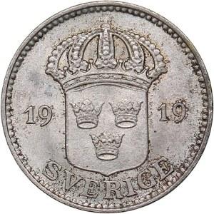 Sweden 25 öre 1919