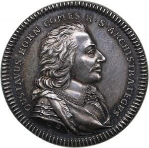 Sweden medal Gustave Horn, commander of Swedish troops, ND (after 1657)