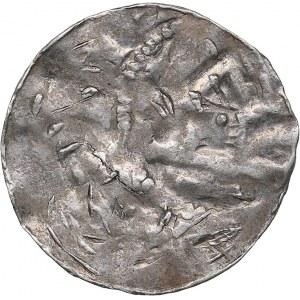 Germany - Saxony pfennig 10-11 century