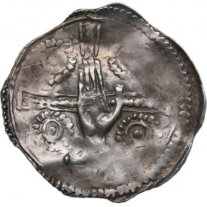 Germany - Trier pfennig - Egilbert von Ortenburg (1079-1101)