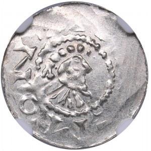 Germany - Emden AR Denar - Hermann von Kalvelage (1020-1051)
