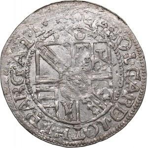 Germany 3 kreuzer 1607