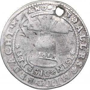 Germany - Braunschweig-Calenberg-Hannover 1/4 taler 1643