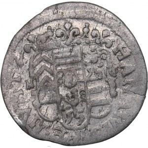 Germany - Hanau-Lichtenberg 2 kreuzer 1657