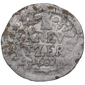 Germany - Hesse-Darmstadt 1 kreuzer 1682