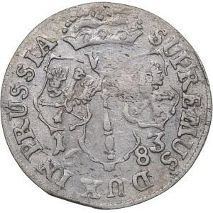 Germany - Brandenburg-Prussia 6 groschen 1683